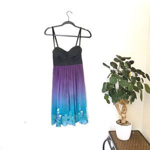 Guess Ombré Fairy Embroidered Dress